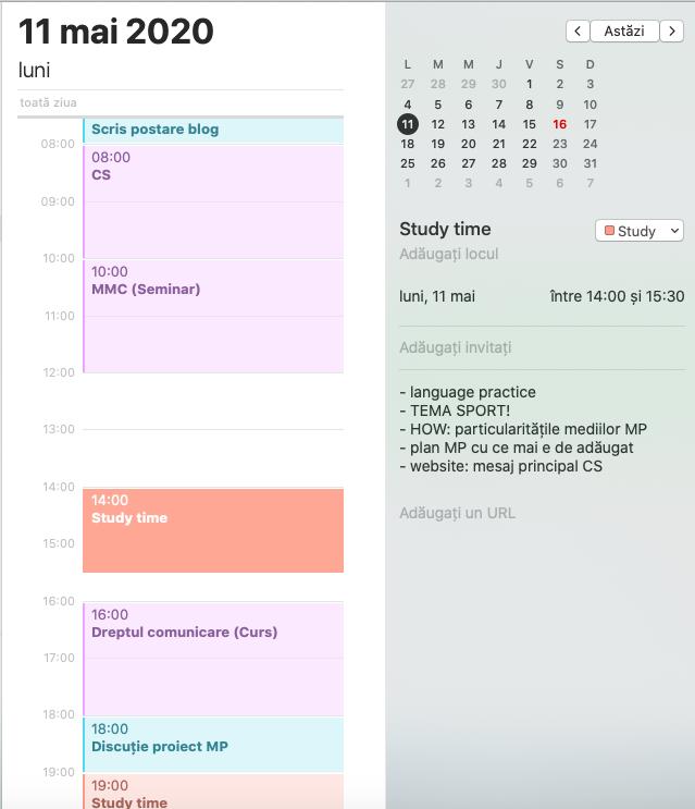 5 sfaturi ca să fii mai productiv: time blocking