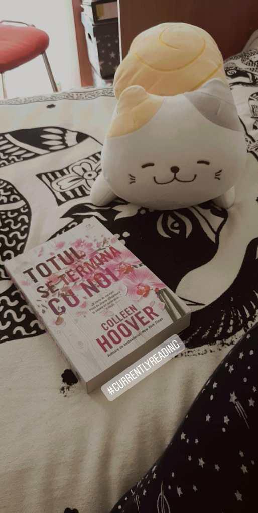 Currently reading: Totul se termină cu noi de Colleen Hoover