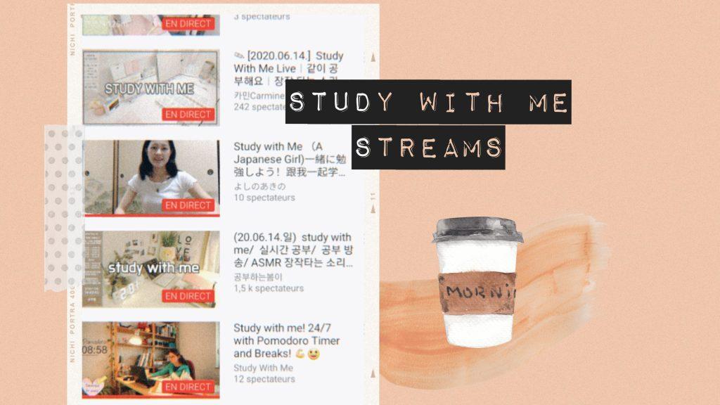 Streamuri study with me pe care să nu le ratezi în această sesiune