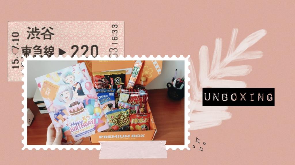 Unboxing: Tokyo Treat June