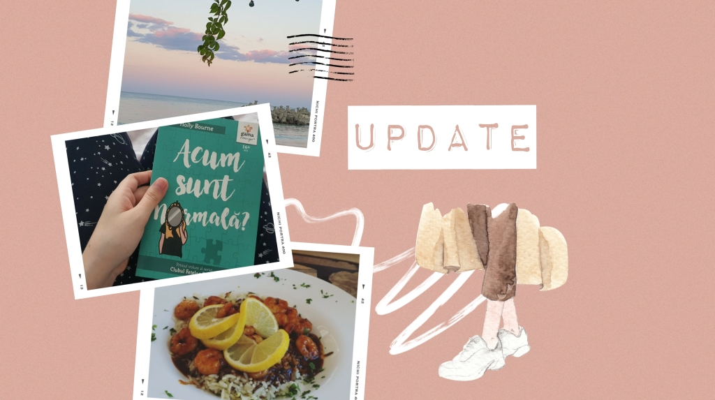 Currently reading: Acum sunt normală? de Holly Bourne
